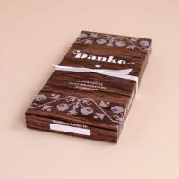 Schokolade Danke Holzoptik: Milch