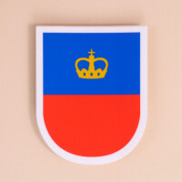 Sticker Liechtenstein: «Wappen»