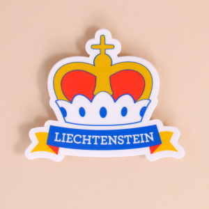 Sticker Liechtenstein: «Krone»