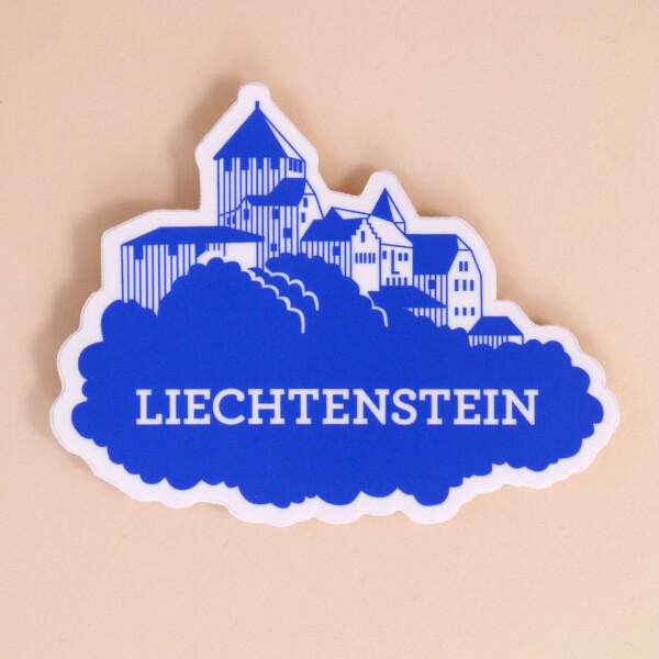 Sticker Liechtenstein: Schloss Nostalgie