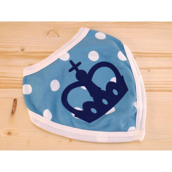 Lätzle gepunktet: «Krone» Hellblau