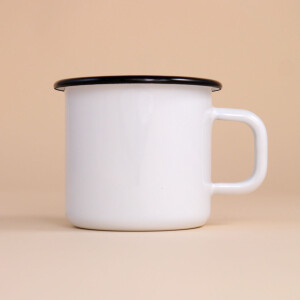 Tasse Emaille: Last Monarchy