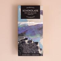 Genussbrett: « Ess köreg, Schloss-Schoki»