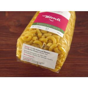 Pasta Fiorelli, Bio-Hartweizen: Hörnli