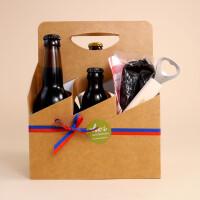 Liechtensteiner Bier: Sixpack mit Wurst & Flaschenöffner