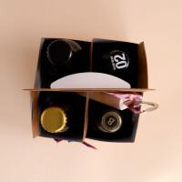 Liechtensteiner Bier: 4er-Pack mit Flaschenöffner