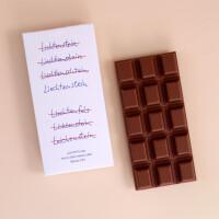 """Schokolade """"Nur ein Liechtenstein"""": Milch"""