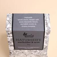 Seife zola - naturhandwerk: Wacholder & Arve