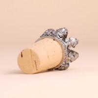 Flaschenverschluss Krone: Silber