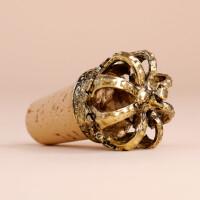 Flaschenverschluss Krone: Gold