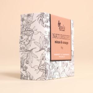 Seife zola - naturhandwerk: Minze & Orange