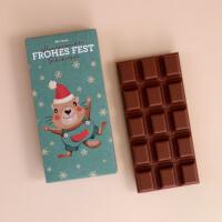 """Schokolade Weihnachten """"Mormile - Frohes Fest"""": Milch"""