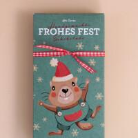 """Schokolade """"Mormile - Frohes Fest"""" Weihnachten: Milch"""