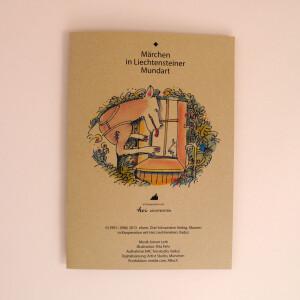 CD mit Karton: Märchen in Liechtensteiner Mundart