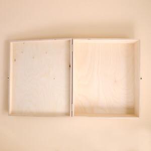 Hofkellerei Holzkiste 3x 75cl  (leer)