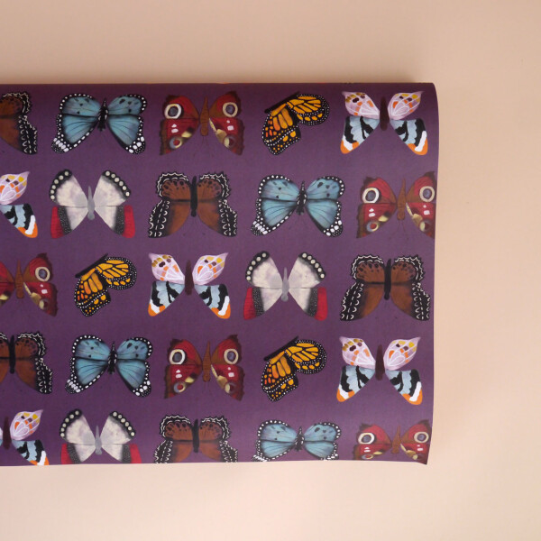 Geschenkpapier: Schmetterlinge