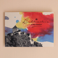 "Postkarte ""Alpine Monarchy Aquarell"""
