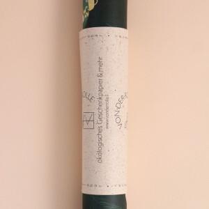 Geschenkpapier: Weihnachten grün