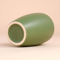 EM Keramik Becher: 3 dl Olivgrün