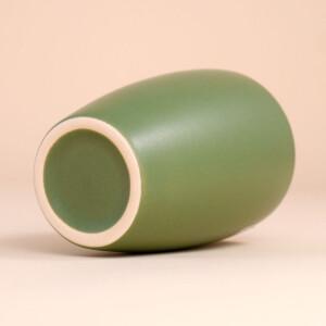 EM Keramik Becher: 1,5 dl Olivgrün