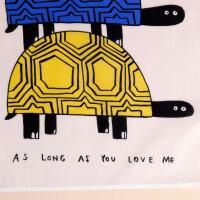Stofftüchlein Schildkröten - As Long as You Love Me