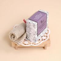 Seifenset Lavendel mit Seifenhalter - und Säckchen